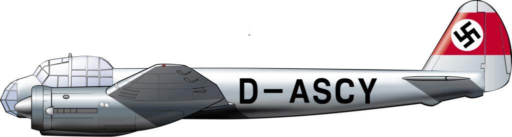 El avión que pasó de atacar Londres a defender Berlín